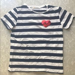 Other - Men's Striped Crew neck t shirt